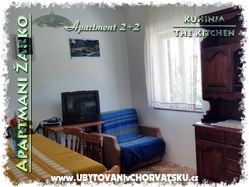 Apartmány Žarko - Gradac – Podaca Chorvatsko