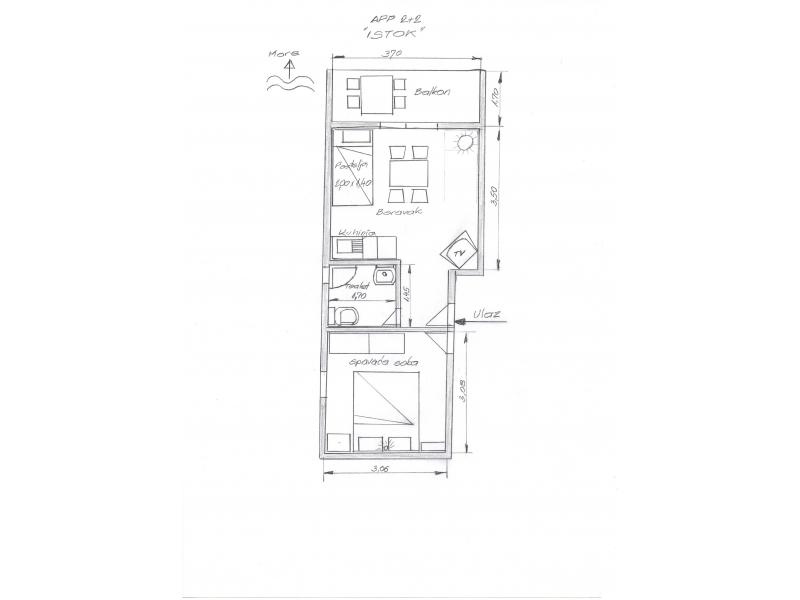 Apartm�ny Lavanda - Gradac � Podaca Chorvatsko