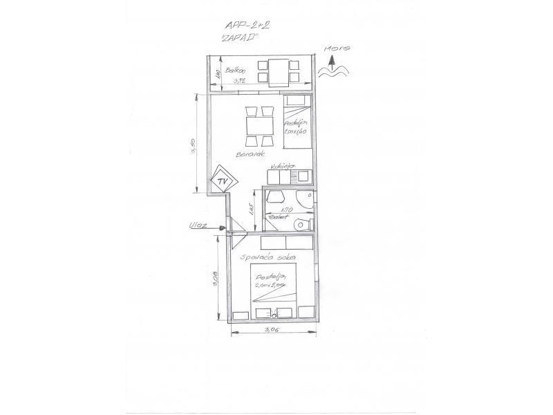 Apartmány Lavanda - Gradac – Podaca Chorvátsko