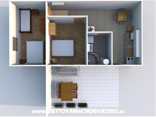 Apartmaji Kosović - Gradac – Podaca Hrvaška