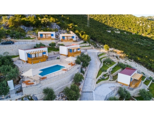 Táboring Homes Grot - Gradac – Podaca Horvátország