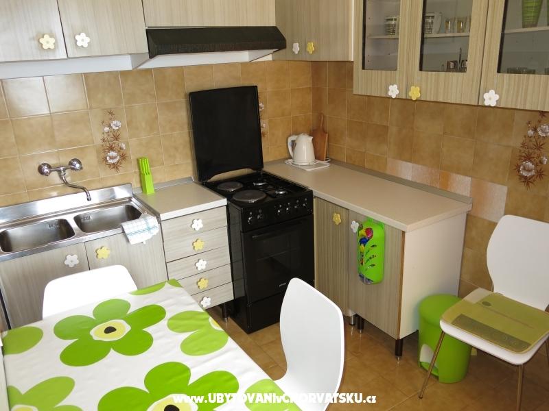Apartmány Gradina - Gradac – Podaca Chorvátsko