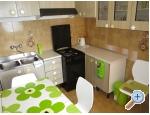 Appartements Gradina - Gradac – Podaca Kroatien