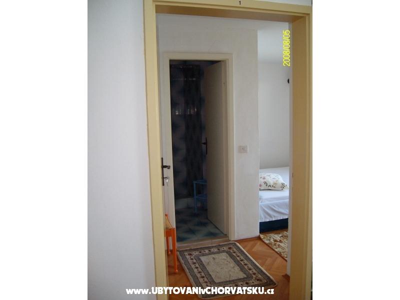 Apartmány Duda - Gradac – Podaca Chorvátsko