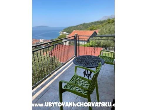 Vila Monika - Gradac – Podaca Chorvatsko