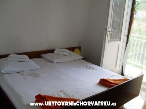 Apartmány i Pokoje Barbarić - ostrov Hvar Chorvatsko