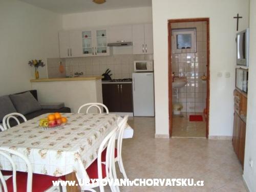 Appartements Oskorušica - ostrov Hvar Kroatien