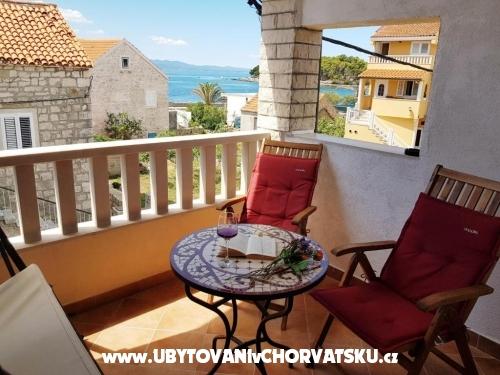 Appartements Mladen - ostrov Hvar Kroatien
