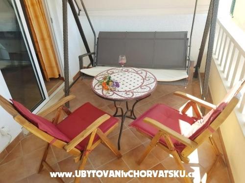 Appartements Mladen - ostrov Hvar Croatie