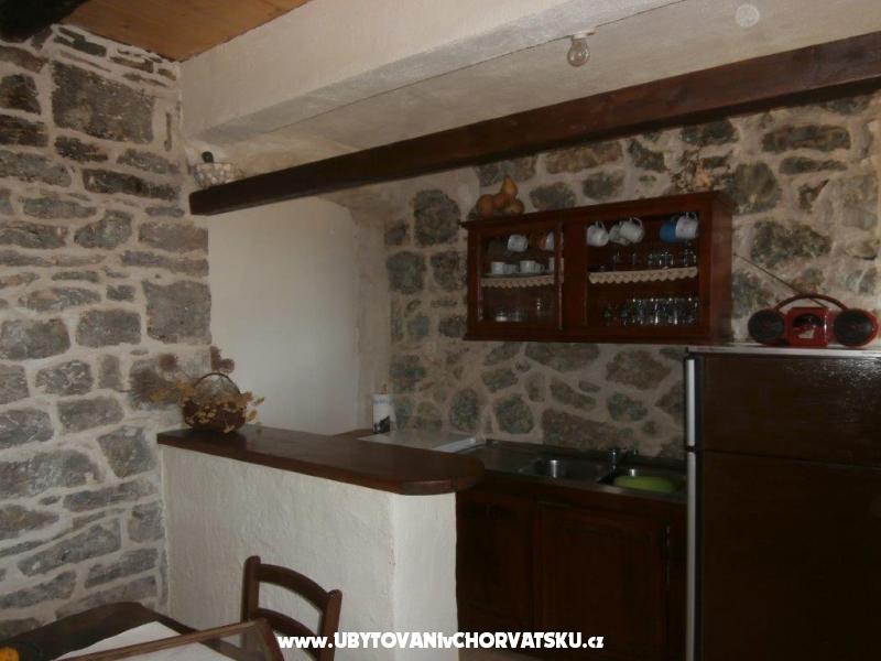 Kamenný dom za odmor Ostojić - ostrov Hvar Chorvátsko
