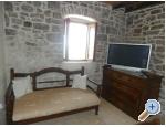 Kamenný dům za odmor Ostojić - ostrov Hvar Chorvatsko