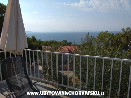 Tigrich apartmani - ostrov Hvar Chorvatsko