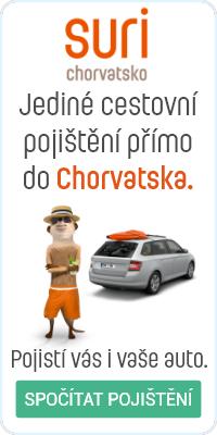 pojištění do Chorvatska