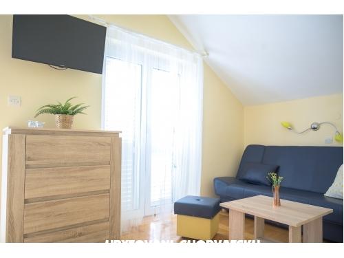 Apartmány Carlo - Karlobag Chorvatsko