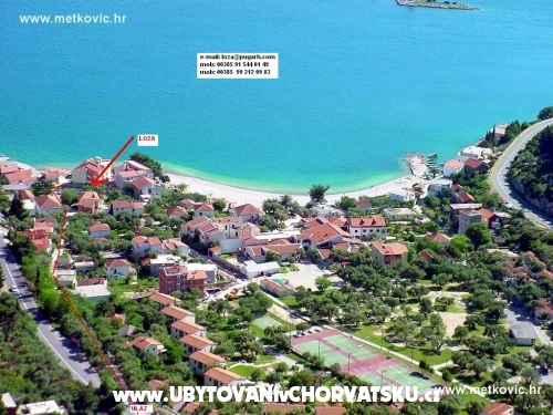 Apartmán Mijoc (Loza) - Klek Chorvatsko