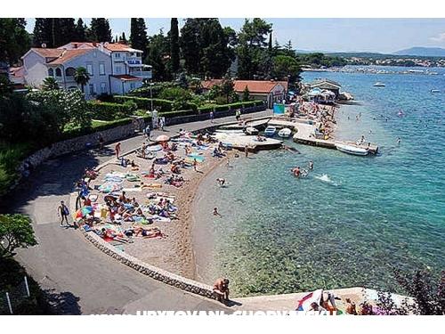 Malinska Apartmány - ostrov Krk Chorvatsko