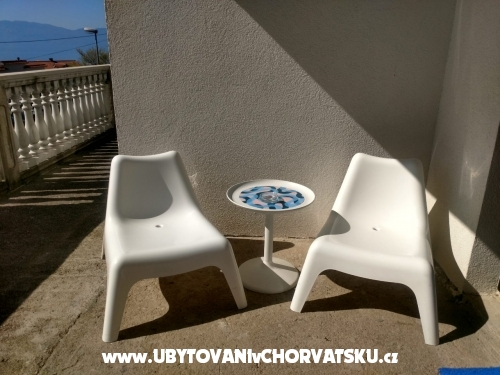 Apartmán Tara - ostrov Krk Chorvatsko