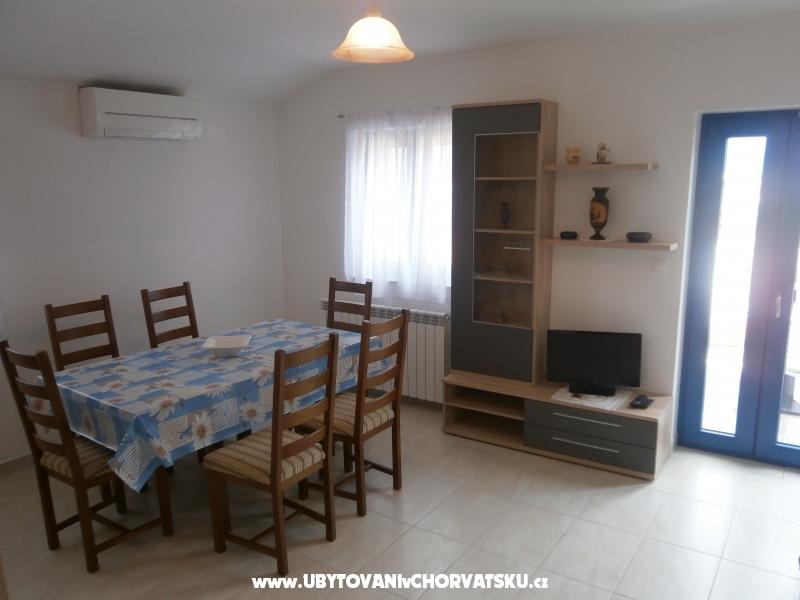 Apartmanok Crnčić - ostrov Krk Horvátország
