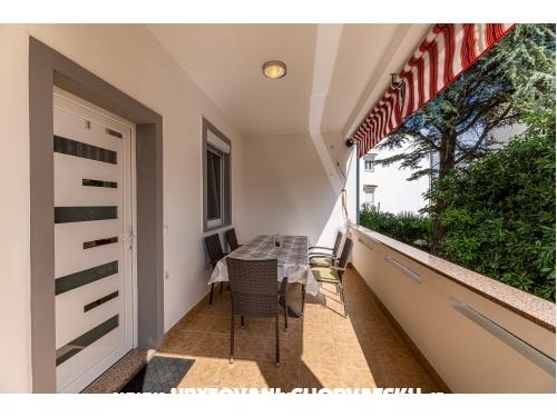 Appartements Fortuna - ostrov Krk Croatie
