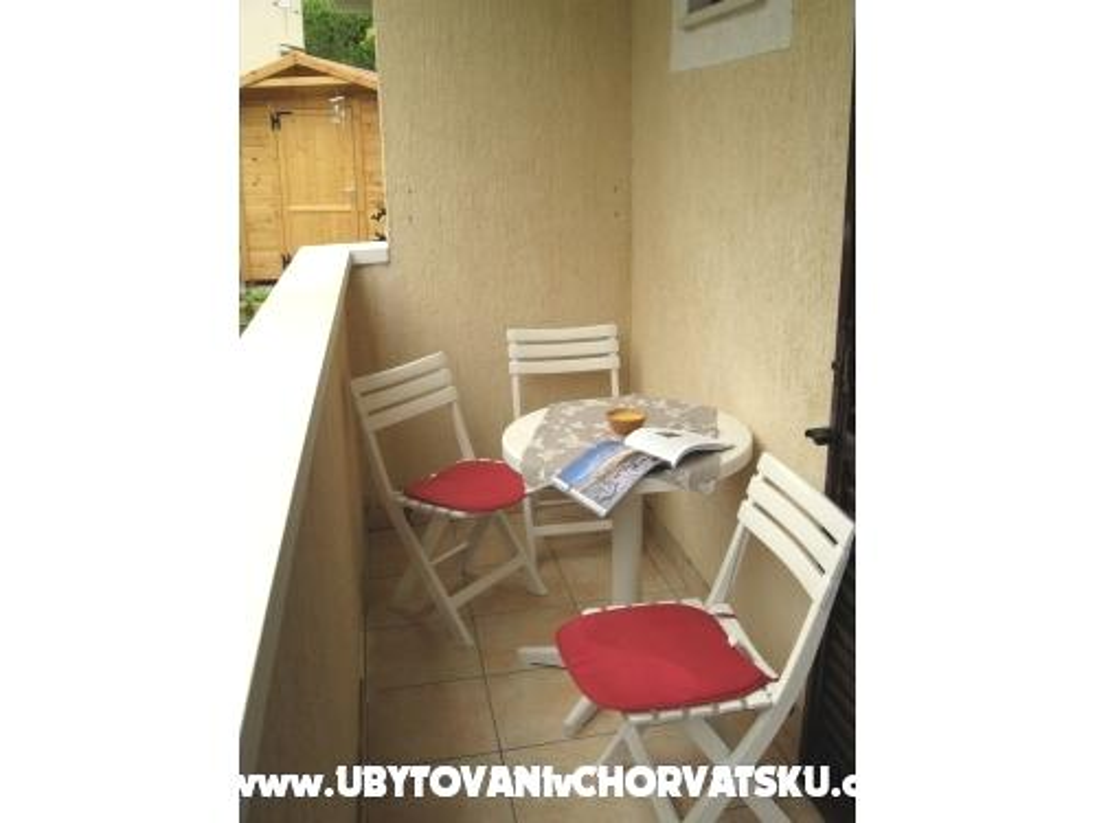 апартаменты Ivana - ostrov Krk Хорватия