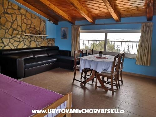 Apartmaji lizy - ostrov Krk Hrvaška