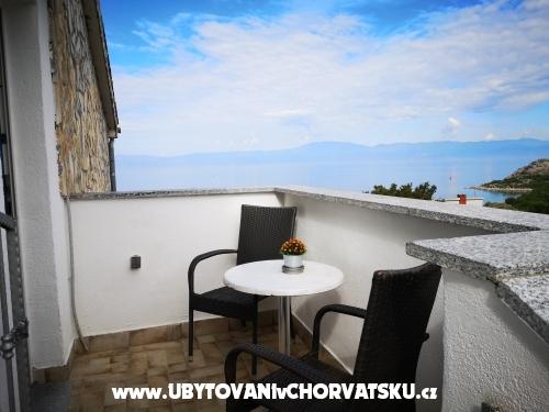 Appartementen lizy - ostrov Krk Kroatië