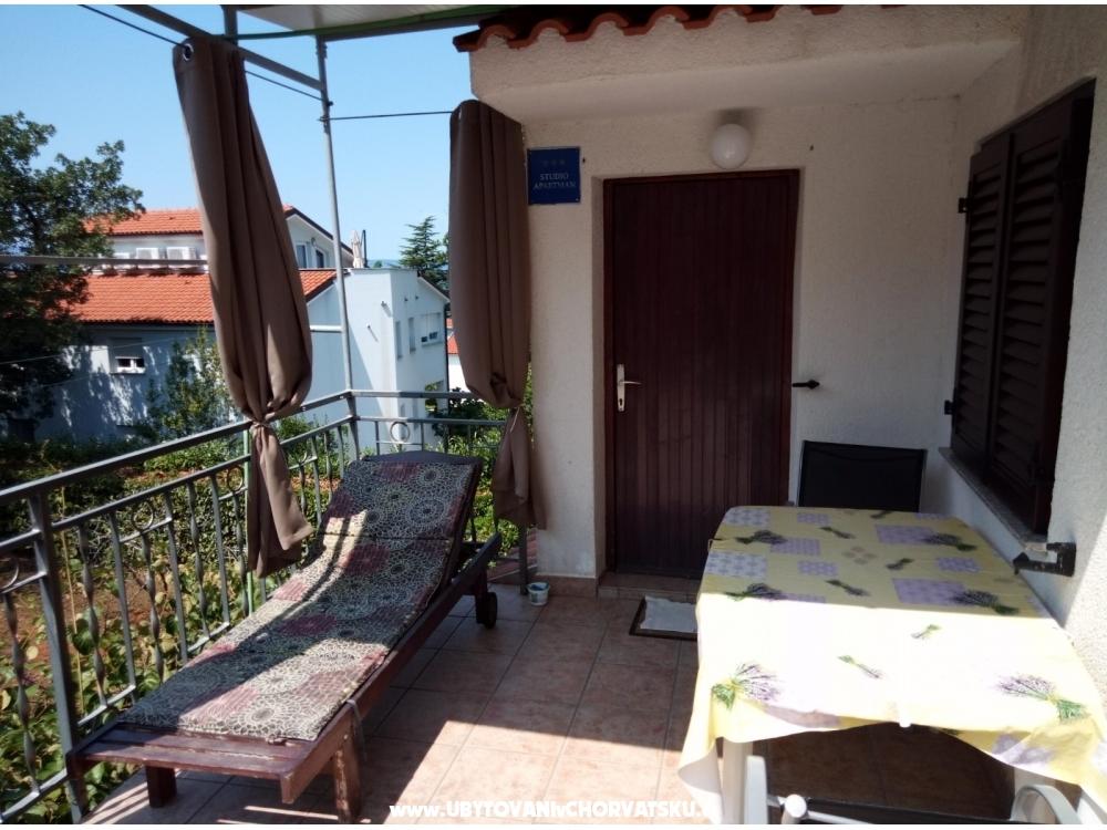 Appartements Malenica - ostrov Krk Croatie