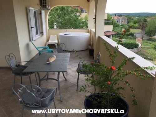 Apartmány Malinska - ostrov Krk Chorvatsko