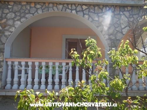 Apartmány Petrović - ostrov Krk Chorvátsko