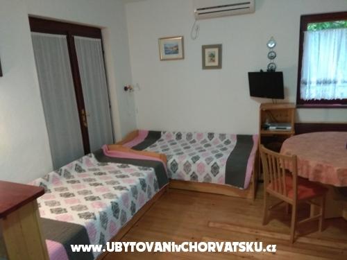 Apartmány Tonković - ostrov Krk Chorvatsko