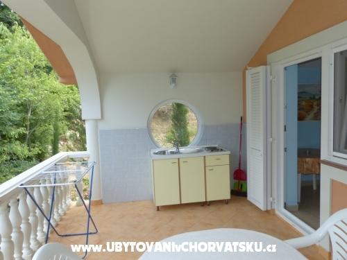 Apartmány Viktorija Omišalj - ostrov Krk Chorvatsko