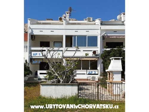 Apartmaji Grgic - ostrov Krk Hrvaška