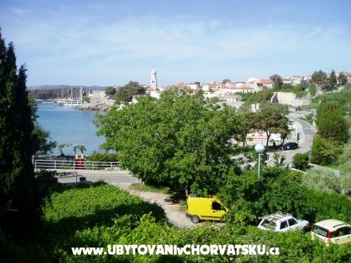 Apartmanok Melania - ostrov Krk Horvátország