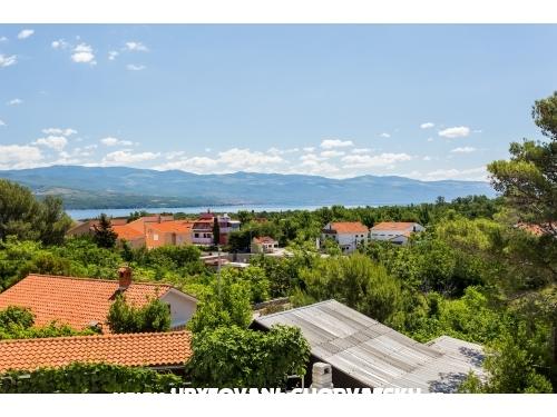 Apartmány Vila Maslina - ostrov Krk Chorvátsko