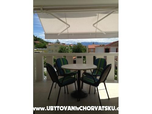 Apartmaji Posavec - ostrov Krk Hrvaška