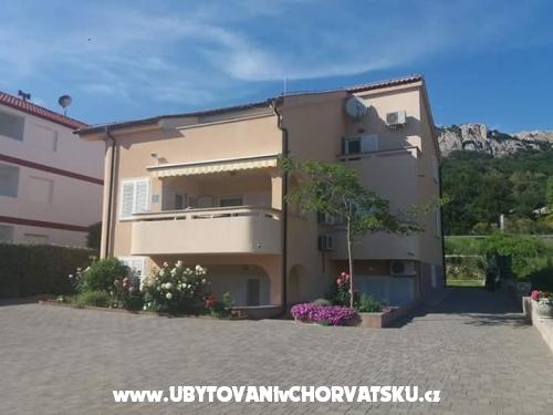 Baška apartmani Dorić - ostrov Krk Chorvátsko