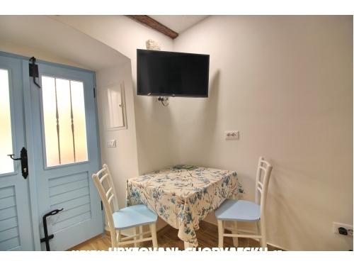 Funtana Apartman a strandon - ostrov Krk Horvátország