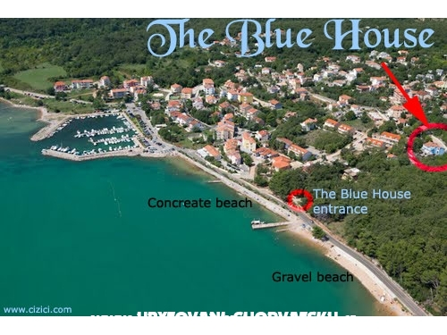 The Blue Casa Appartamenti - ostrov Krk Croazia
