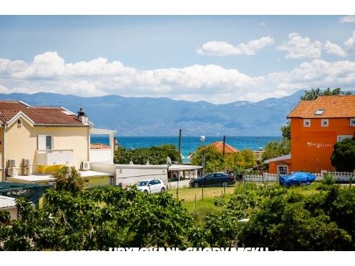 Villa Anna Baska - ostrov Krk Chorvatsko