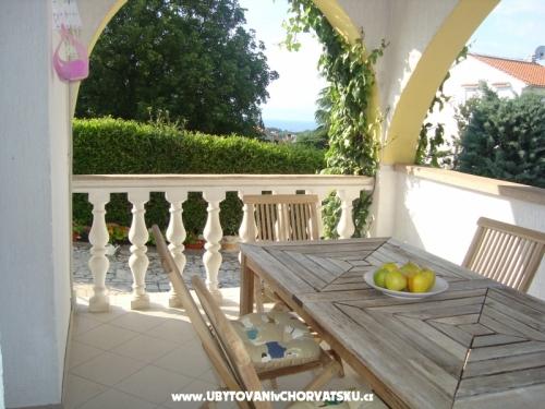 Villa Flora - ostrov Krk Chorvatsko