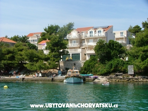Apartmaji Šanko Milina - Lumbarda – Korčula Hrvaška
