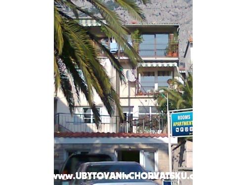 Apartmán Mikula - Makarska Chorvatsko