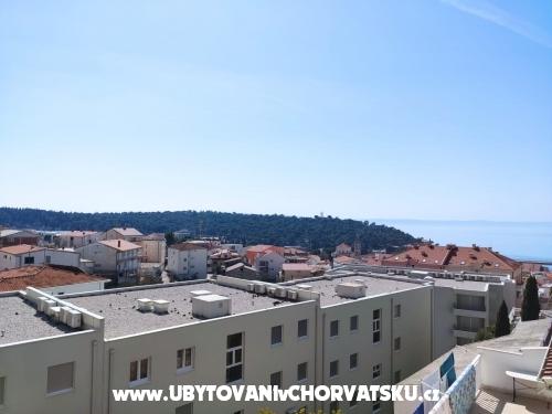 Apartmanok Dragica Begović - Makarska Horvátország