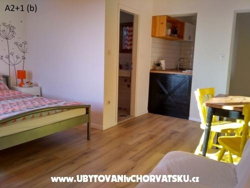 Appartements Kruno - Makarska Kroatien