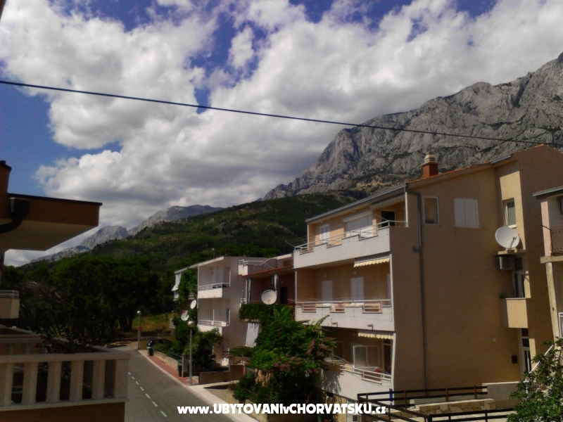 Appartementen Srećo - Makarska Kroatië