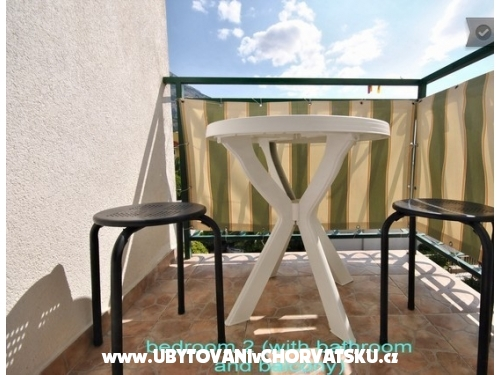 Apartmány and rooms Gojak Milenka - Makarska Chorvátsko