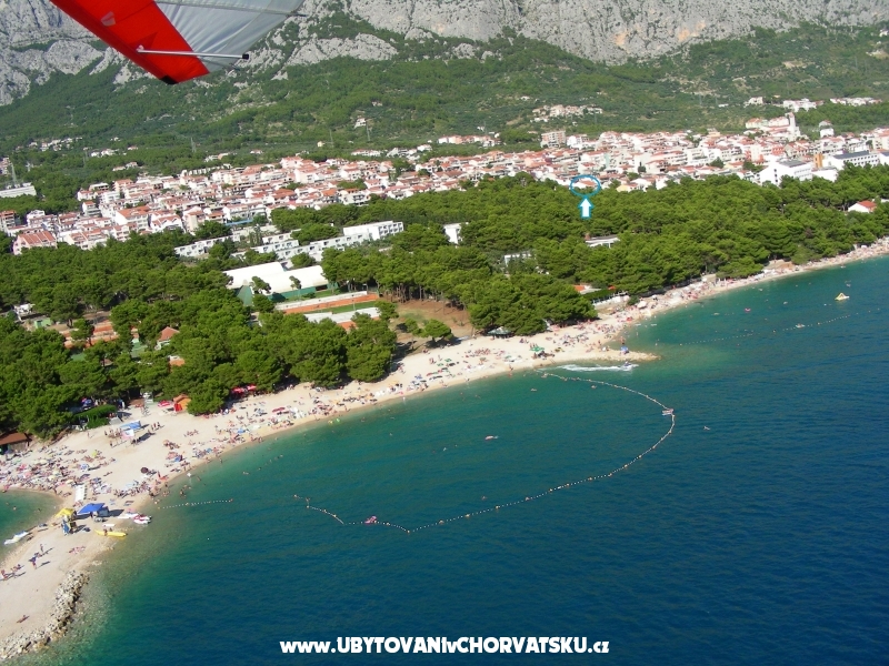 Apartm�ny and rooms Gojak Milenka - Makarska Chorv�tsko