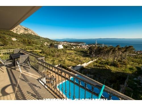 Apartmány s bazénom - Makarska Chorvátsko