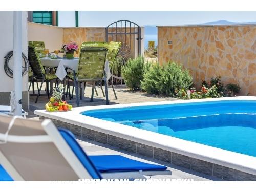 Apartmaji z bazenom - Makarska Hrvaška