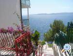 Makarska Appartements Sliskovic, 1. line to sea
